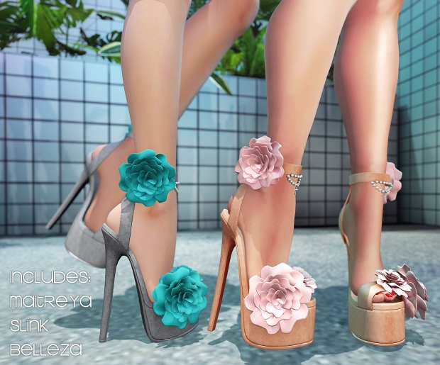BOOM Aura Platform Pumps AD with choices